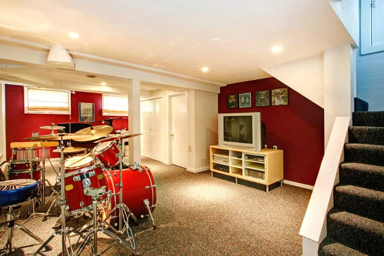 Cheap ways to soundproof a room for drums.