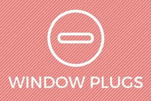 Window Plugs Negatives.