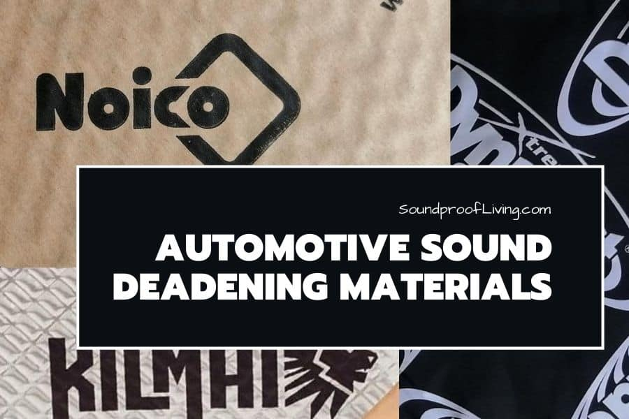 Best automotive sound deadening materials reviewed.