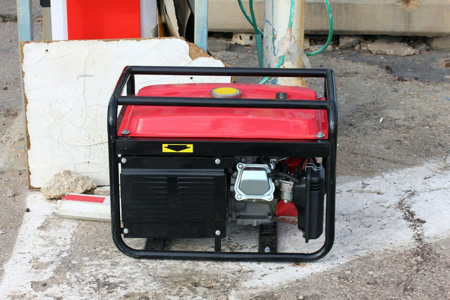 Soundproofing a generator with a quiet box.