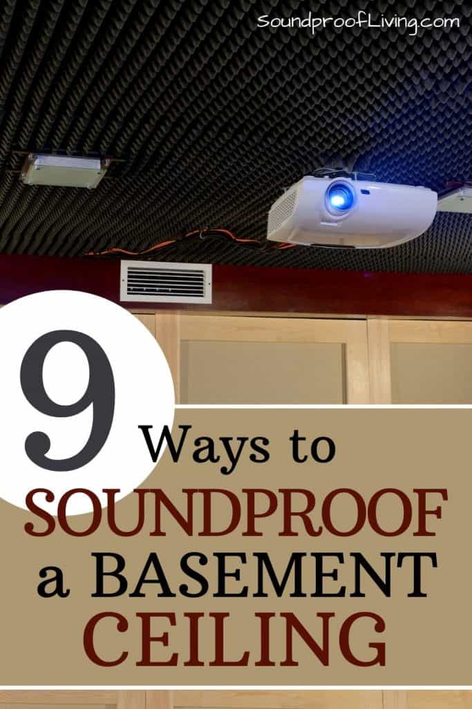 Basement soundproofing tips. The best cheap ways to soundproof a basement ceiling.