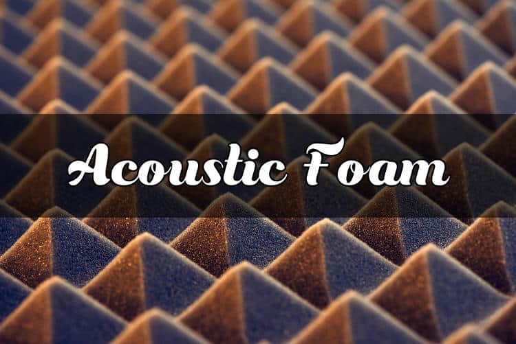 Best soundproof/acoustic foam panels that absorb the sound and improve the acoustics of your room or studio.