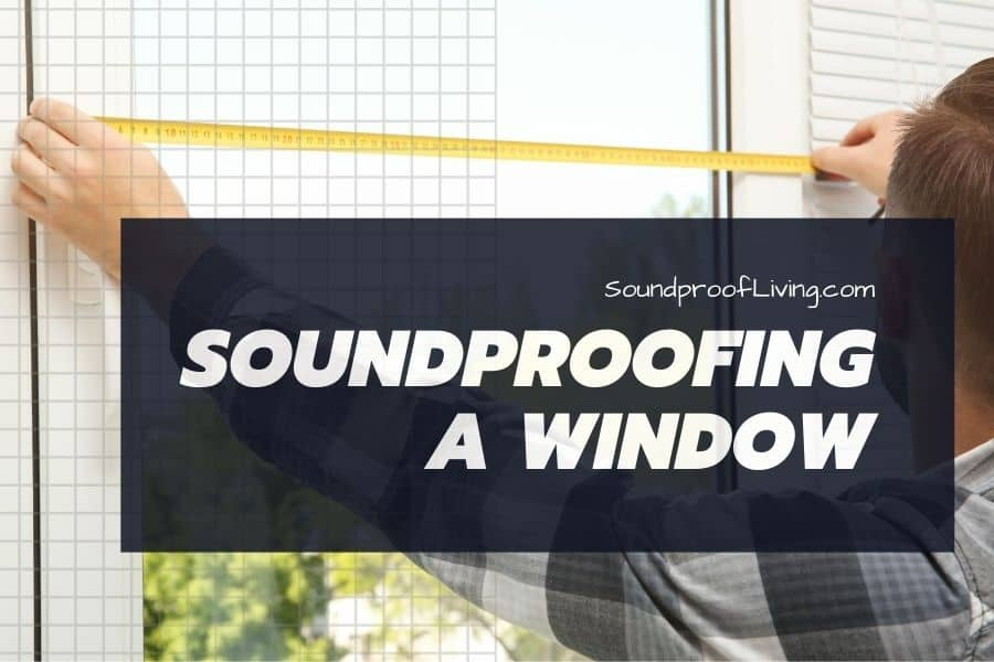 How to soundproof a window for cheap. Best DIY ways to block traffic noise that is entering through the existing windows.