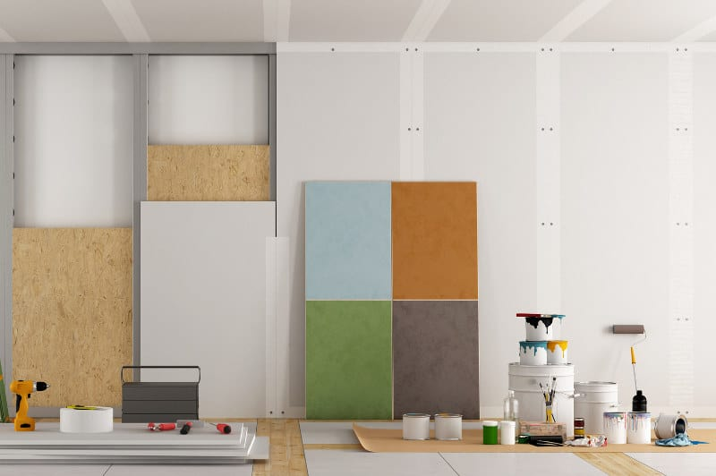 Which type and thickness of drywall you should choose.