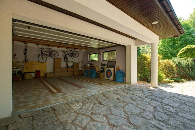 How to soundproof a garage (starting with the door).
