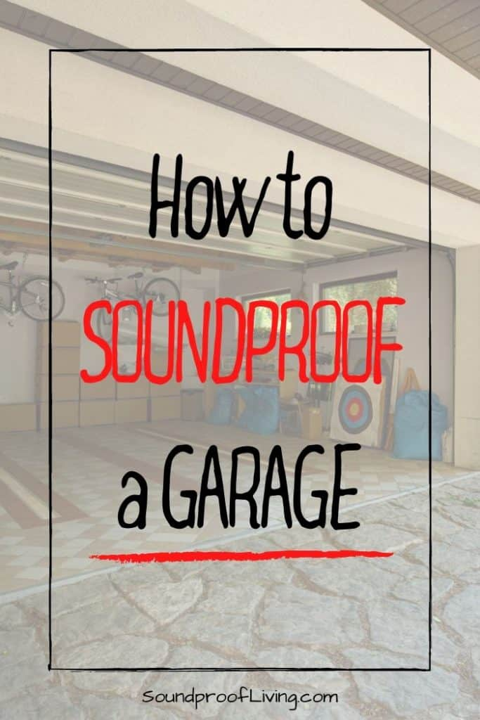 Tips for soundproofing a garage.