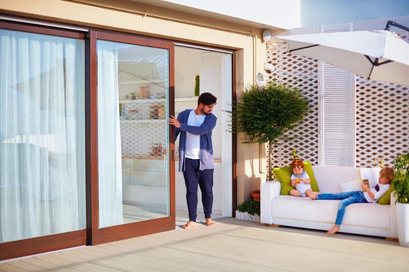 Simple ways to soundproof any type of sliding doors (glass, pocket, barn).