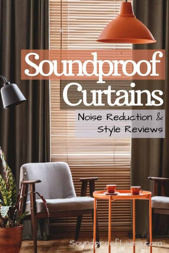 Soundproof curtains. Find the best soundproof curtains for your windows and doors. Soundproof curtain installation guide included.