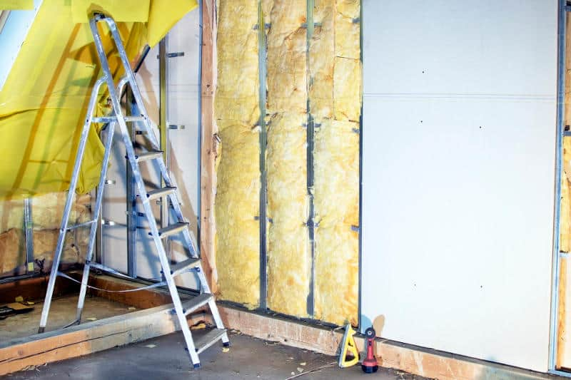 Best insulation for soundproofing walls and ceilings.
