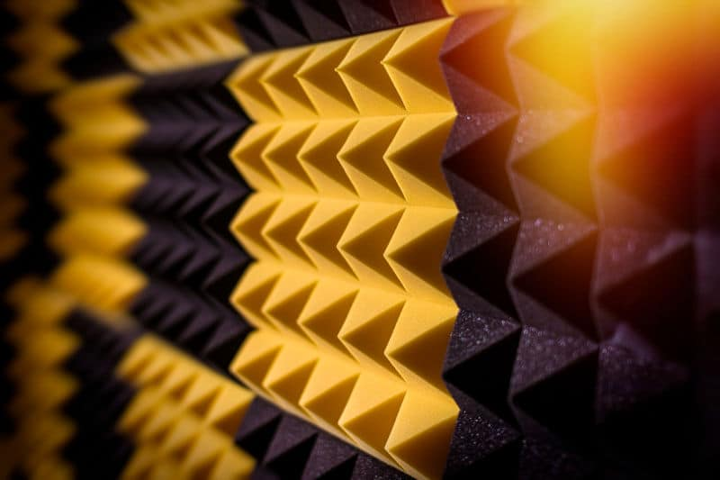 Best acoustic foam panels for soundproofing a studio or home theater.