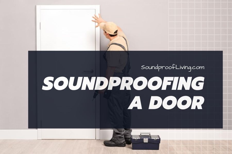 The best ways to soundproof a door include installing a soundproof door sweep, hanging soundproof curtains, getting a new door threshold, and more.