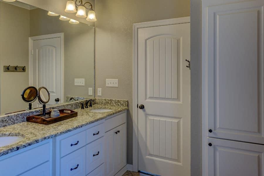 Best ways to soundproof a bathroom door.