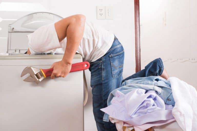 How to fix a squeaky drying or washing machine