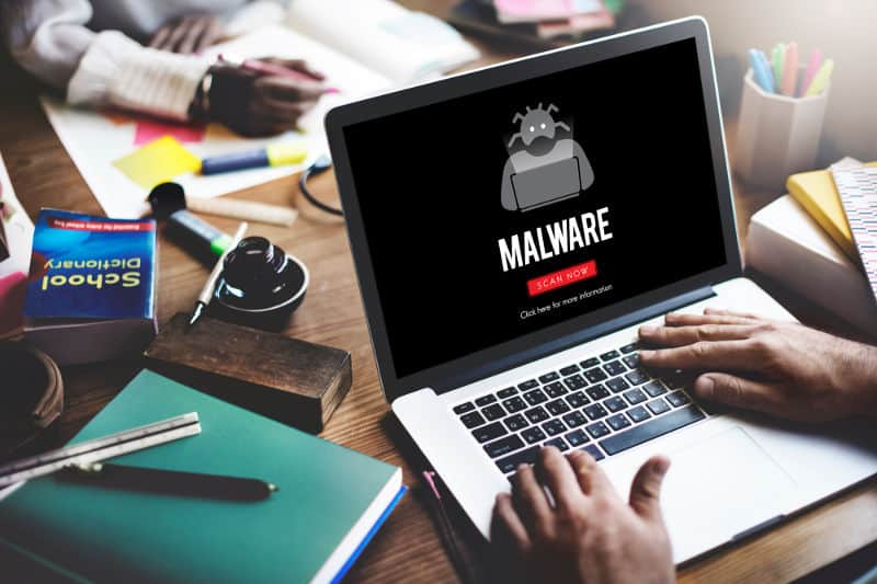 Scan your noisy laptop for malware and the number of running processes.