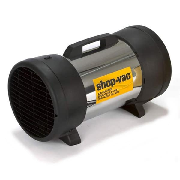 Shop Vac dust collector, air cleaner.