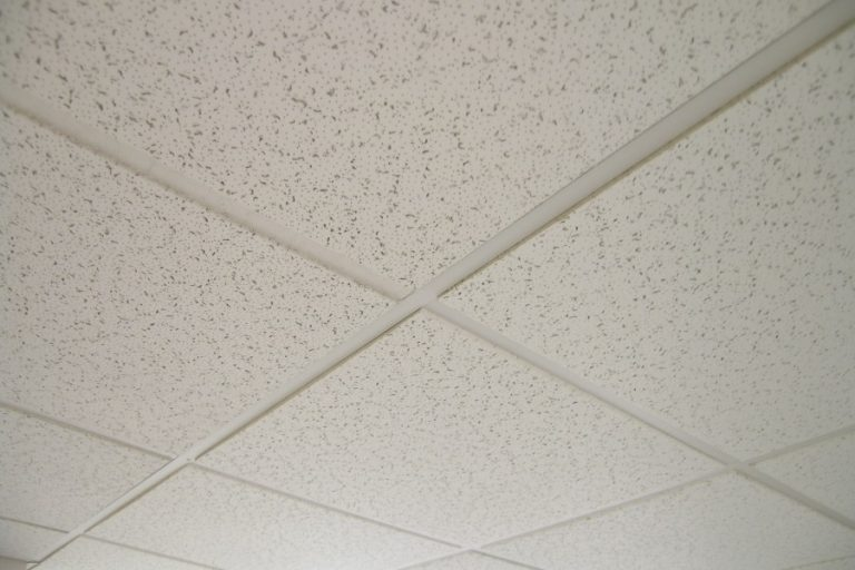 Best acoustical ceiling tiles and how to install a suspended ceiling.