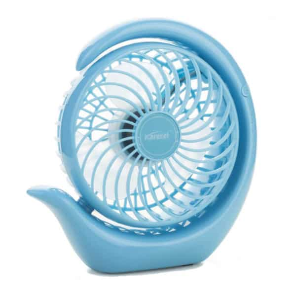 Karecel quiet desk fan.