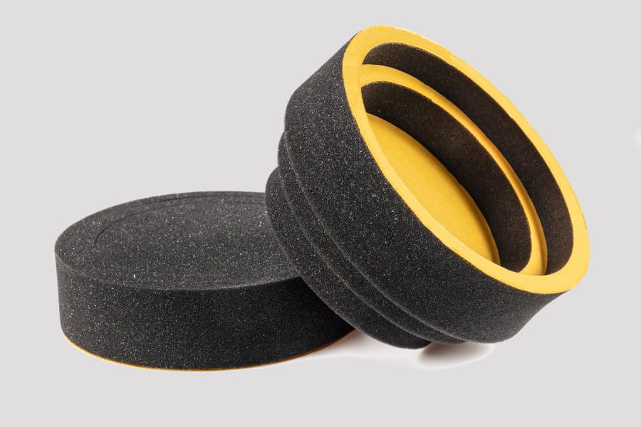 Prevent your car speakers from rattling with foam rings.