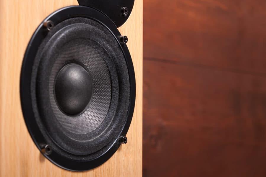 Fixing a blown speaker. Broken home speaker repair.