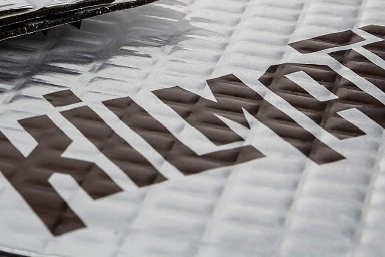Kilmat automotive sound deadening mat.