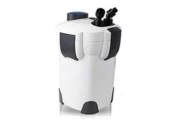 Sunsun canister filter for fish tanks.
