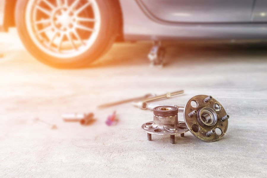 Wheel bearing noise: What causes it and how to fix a faulty bearing.