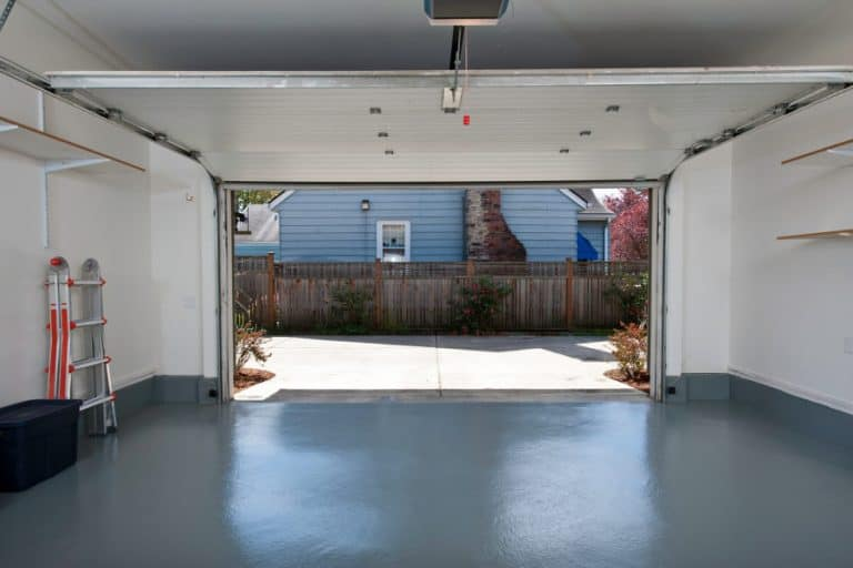 How to seal the sides and the top of a garage door.