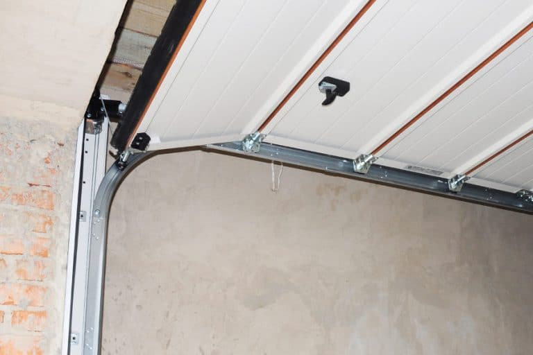 How to seal a garage door for noise and heat.