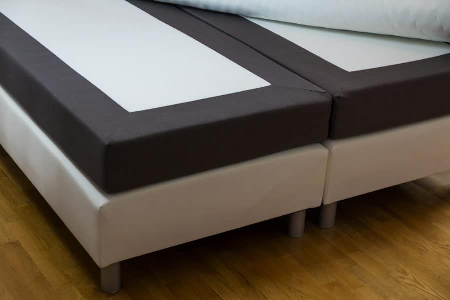 Squeaky box spring: Where is the noise coming from?