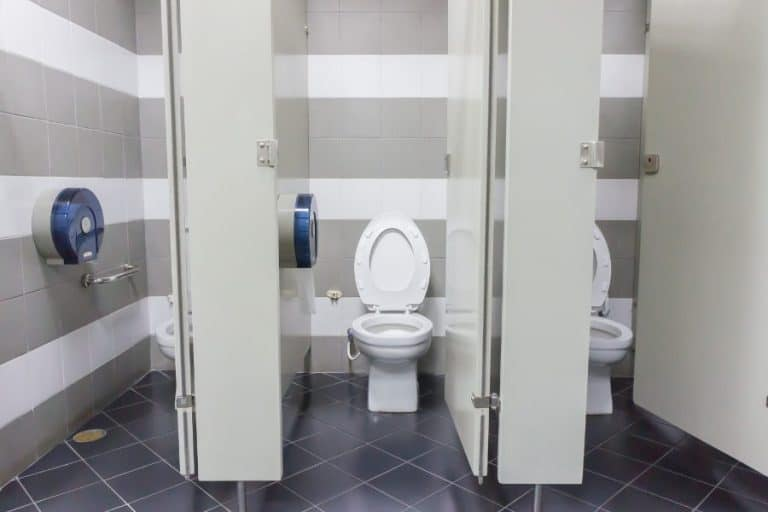 How to poop quietly - Soundproof the office bathroom.