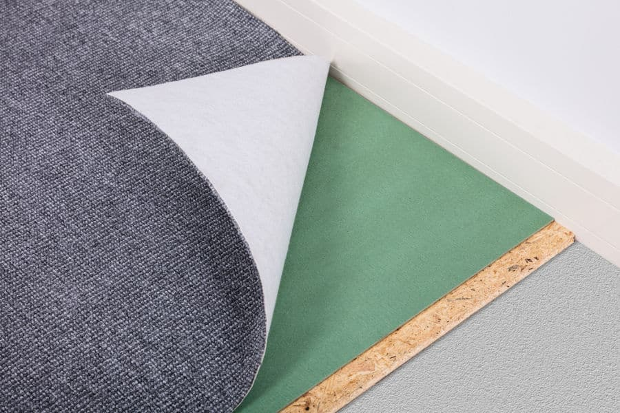 How to soundproof a carpeted floor. Best soundproof carpet underlays and padding.