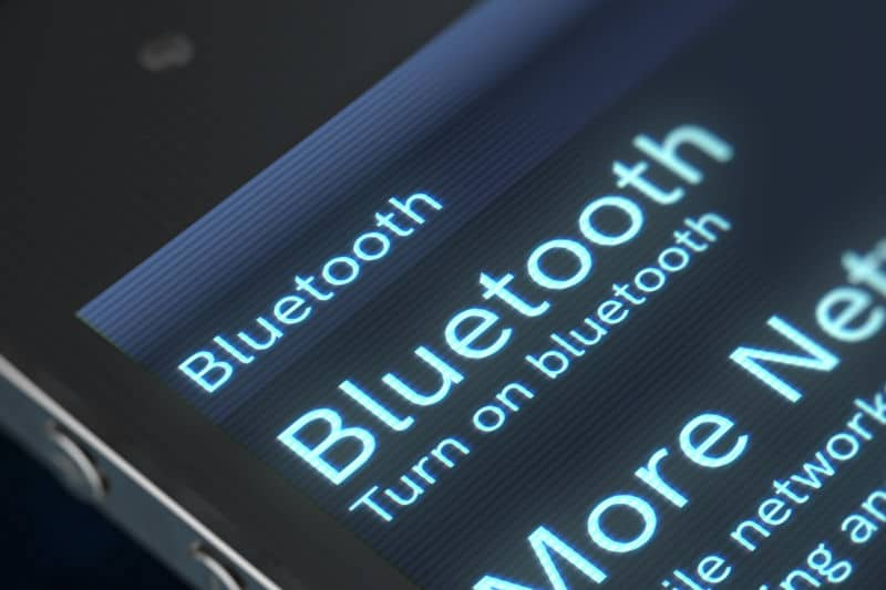 Check Bluetooth connection.
