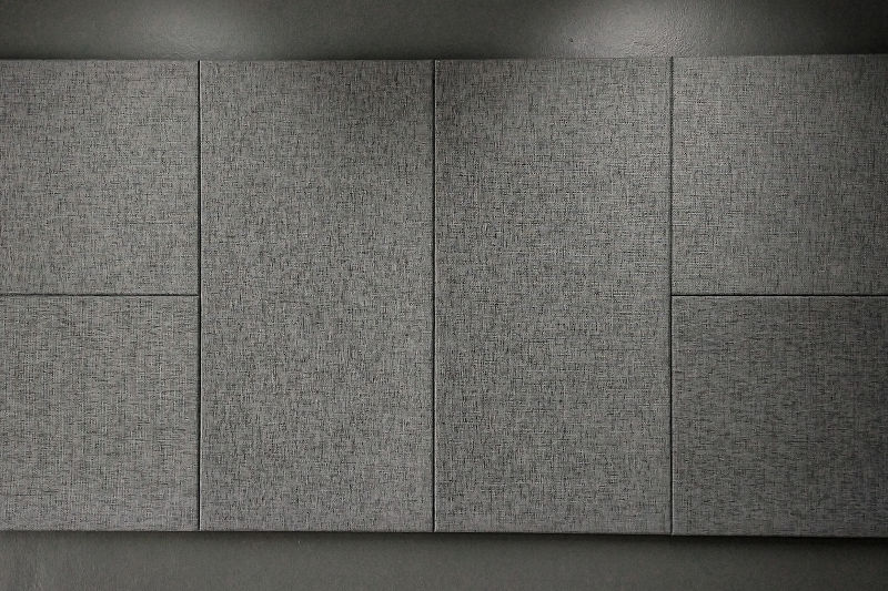 Sound absorbing panels for home and office walls.
