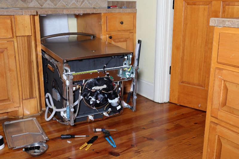 Why is dishwasher making noise when it's off and how you can fix it.