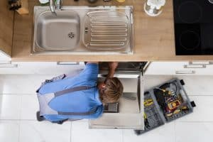 Repairing a dishwasher that is making grinding noise.