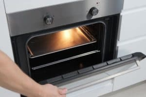 Oven making noise when heating up.